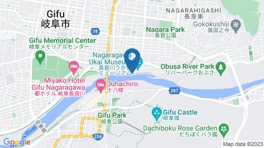 Ushonoie Sugiyama Map