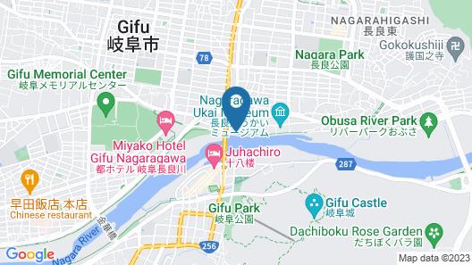 Ishikin Ryokan  Map