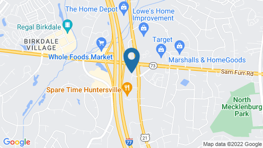 Country Inn & Suites by Radisson, Lake Norman Huntersville, NC Map