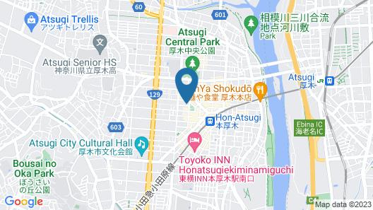Ryokan Sagami Map