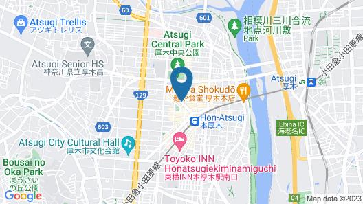 Hotel Vista Atsugi Map