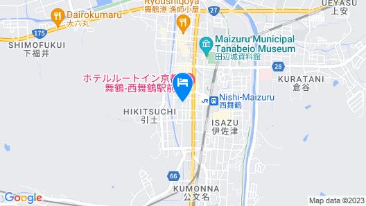 Ryokan Ginsuikaku Map
