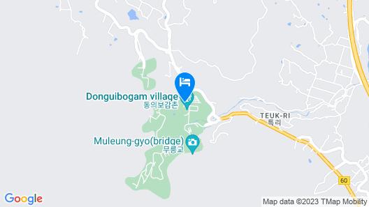 Sancheong Korean Medicine Family Hotel Map