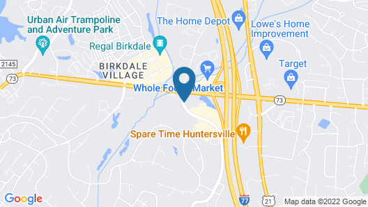 Courtyard by Marriott Charlotte Lake Norman Map