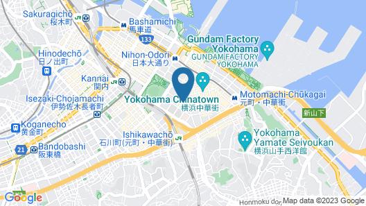 HARE-TABI Traveler's Inn Yokohama Map