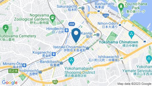 Hotel Balian Resort Yokohama Kannai - Adults Only Map