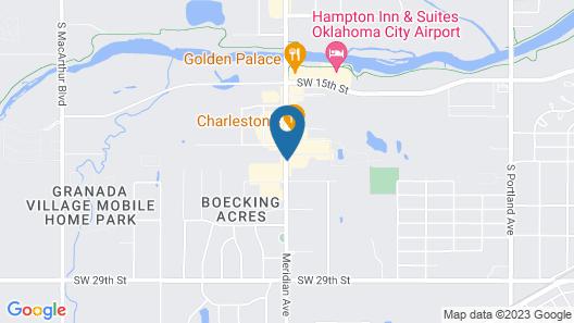 Ramada by Wyndham Oklahoma City Airport North Map
