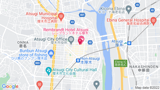 Rembrandt Hotel Atsugi Map