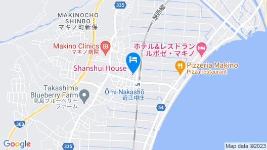 Shiga Biwa Lake Shanshui House Map