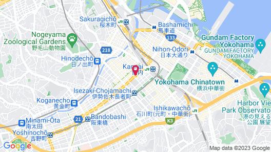 Daiwa Roynet Hotel Yokohama Kannai Map