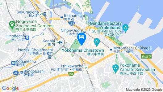 Daiwa Roynet Hotel Yokohama-Koen Map