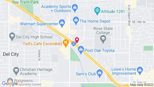 La Quinta Inn & Suites by Wyndham Midwest City - Tinker AFB Map