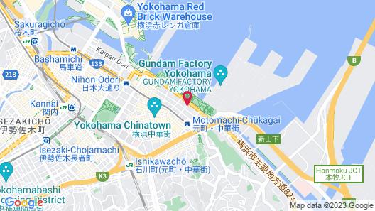 Star Hotel Yokohama Map