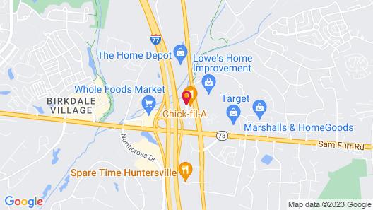 Comfort Suites near Birkdale Village- Huntersville Map