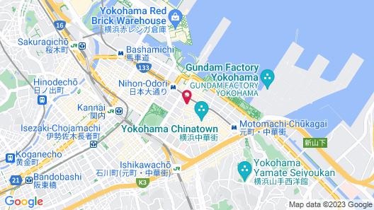 Hotel JAL City Kannai Yokohama Map