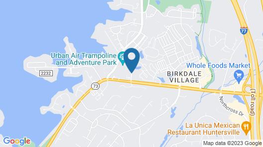 Residence Inn by Marriott Charlotte Lake Norman Map