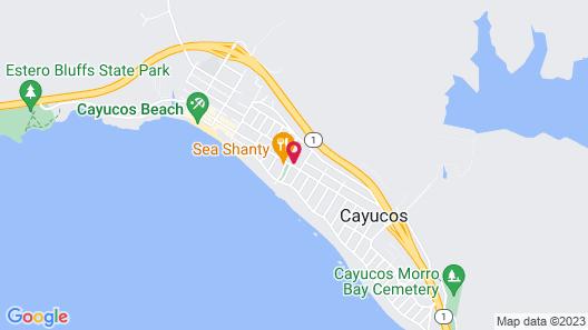 Cayucos Beach Inn Map