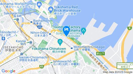 Hotel Monterey Yokohama Map