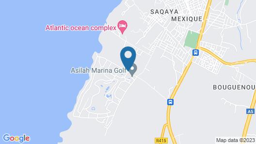 Asilah Marina Golf Map