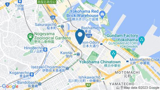 Comfort Hotel Yokohama Kannai Map