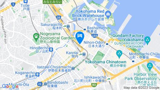 Hotel MyStays Yokohama Kannai Map