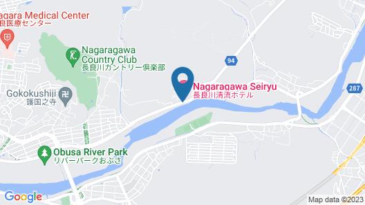 HOTEL NAGARAGAWA NO SATO Map
