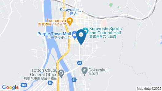 Business Hotel Saiki Map