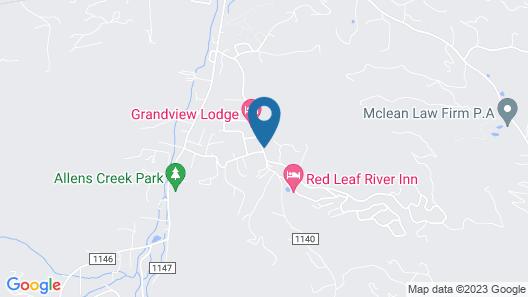 Grandview Lodge Map