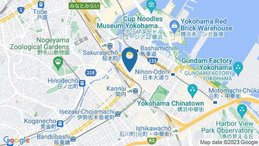 PROSTYLE Ryokan Yokohama Bashamichi Map