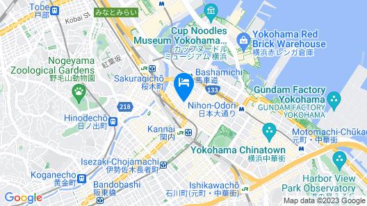 Richmond Hotel Yokohama Bashamichi Map