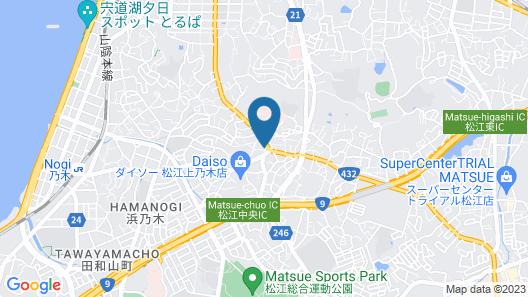 OYO Hotel Yakumo Matsue Map