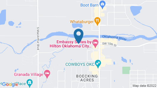 Towneplace Suites Oklahoma City Airport Map