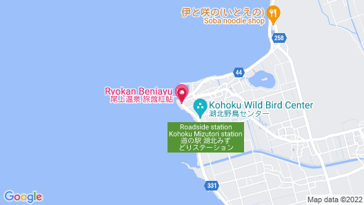 Ryokan Beniayu Map