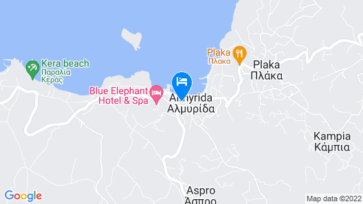 Almyrida Resort Map