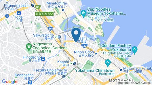 Sotetsu Fresa Inn Yokohama-Sakuragicho Map