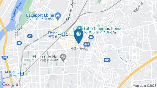 Rembrandt Hotel Ebina Map