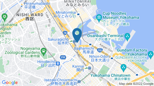 Sakuragicho Washington Hotel Map