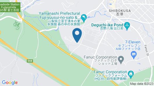 Inn Fujitomita Map