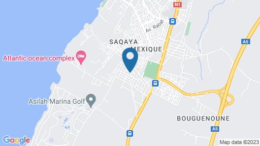 Nour D'asilah Map