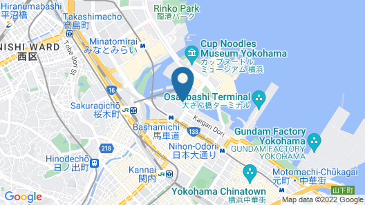 APA HOTEL&RESORT (YOKOHAMA BAY TOWER) Map