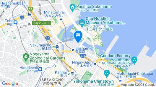 APA HOTEL&RESORT (YOKOHAMA BAY TOWER) Map
