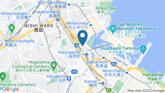 JR-EAST HOTEL METS YOKOHAMA SAKURAGICHO Map