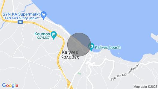 Kalives Orchard Villas Map