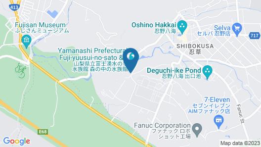 Oshino Kogen Hotel Map