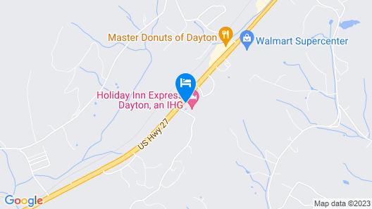 Holiday Inn Express Dayton, an IHG Hotel Map