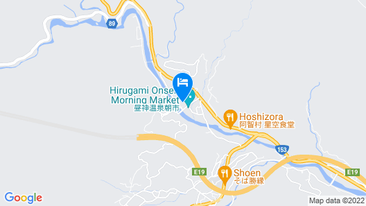 Hirugami Grand Hotel Tenshin Map