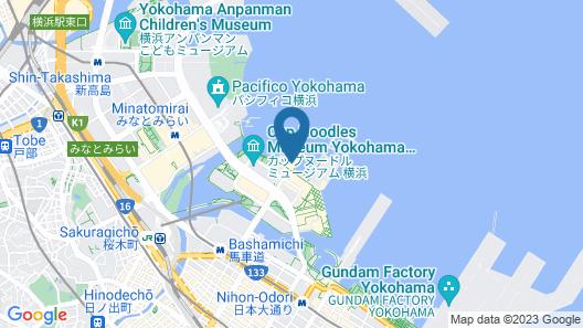 Intercontinental Yokohama Pier 8 Map
