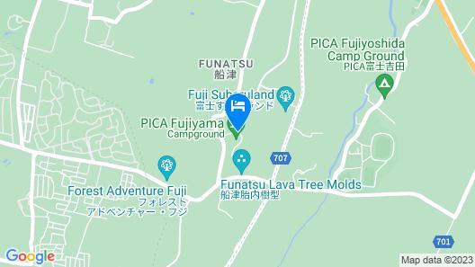 PICA Fujiyama Map