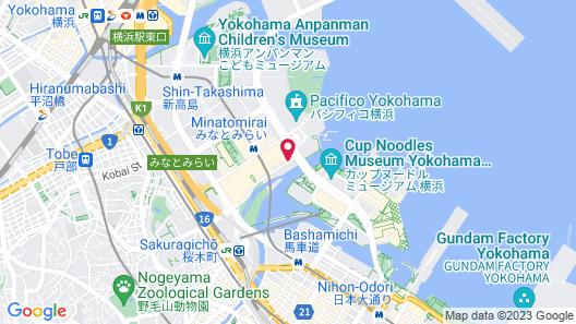 The Yokohama Bay Hotel Tokyu Map