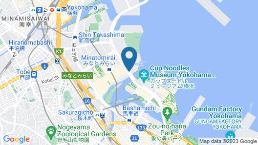 InterContinental Yokohama Grand Map